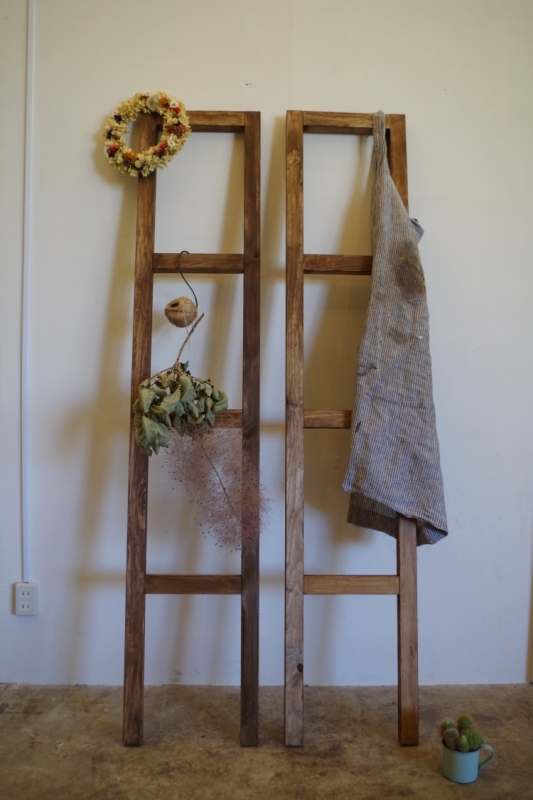 【組み合わせるととっても便利!サンコイチシリーズ】『木製ラダー』を作ろう♪