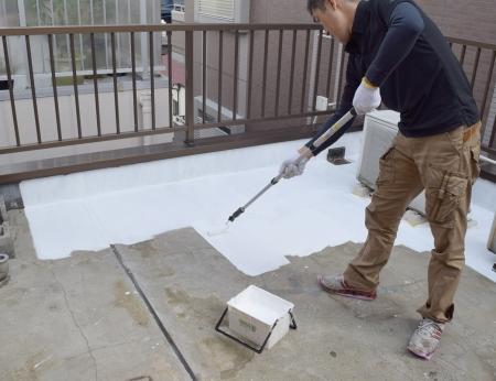 【動画】ベランダ・屋上の防水